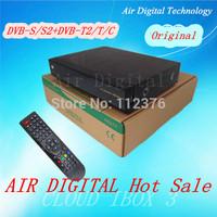 2pcs Origianl cloud ibox 3 DVB-S2+T2/C Hybrid tuner 751MHz twin tuner satellite receiver