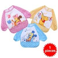 1 piece Waterproof colorful  good quality Baby Bib Cartoon Series Baby Towel Bibs & Burp cloths Baby Feeding Smock