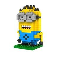 LOZ Mini Blocks Minion Cartoon Person Bricks Building Block Sets Educational Toys Boys Girls Juguetes