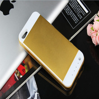 3500mAh Aluminium Alloy External Power Bank Charger Pack Backup Battery Case For iPhone 5 YSA510035A Free Shipping