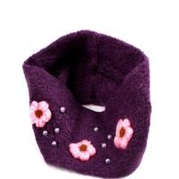 2pcs Purple / Brown Purple / Brown Stylish Hair accessories Winter Elastic hair band Flower Head wrap Headband Ear Warmer FS221