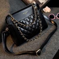 2015 women handbag crossbody bags  female bag big small plaid chain women's one shoulder bag handbag messenger bag