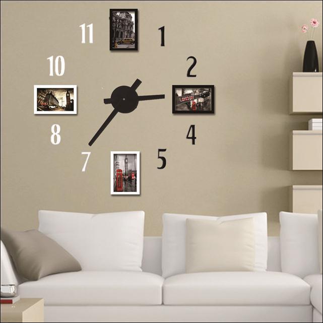 Sticker mural design promotion achetez des sticker mural design promotionnels - Cadre photo moderne design ...