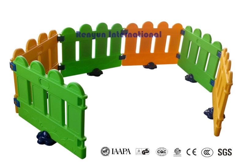 Plastic playing fence children indoor playground kids plastic toy baby playpen 6-panel playard(China (Mainland))