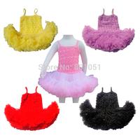Baby Girls Flowers tutu Dress toddler princess girl's party ball gown summer clothes vestido meninas