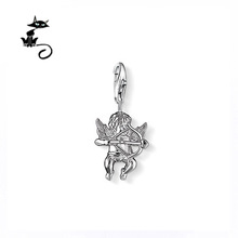 Cupid charm pendant from the Silver plated – FREE SHIPPING Gift 2014 Wholesale Accessories Fashion Jewelery for women from china