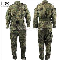 Tactical Rattlesnake Mandrake BDU Military Uniform Combat Suit Set Shirt & Pants Ripstop for airsoft Camouflage Kryptek style