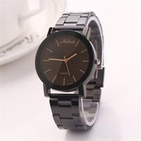 XR224 Men Wristwatches Crystal Business Casual Steel Analog Quartz Watch Women Graceful Stainless Bracelet Quartz Watches