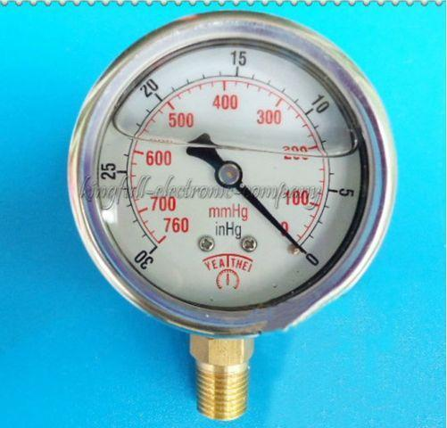 NEW Arrival 60MM Upright -760mmhg, -30inhg ~ 0 Oil-filled Shock Vacuum Table Free Shipping(China (Mainland))