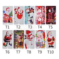 Personality Christmas gift Santa Claus pattern card shape 4GB 8GB 16GB 32GB USB 2.0 Memory Stick Flash Pen Driver U Disk USB567