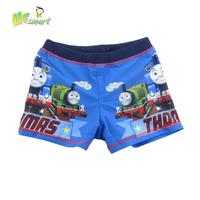 Boys Swimwear Sunga infantil Thomas Train 2015 Swimming Trunks Children's Swimwear Boys Swimsuit Trunks Disfraces Infantiles