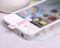 1000pcs 0.33MM 2.5D 9H For iphone 4 4s Explosion-proof Screen Tempered Glass Protector Film Guard No Retail Box