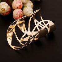 Fashion Punk Personalized Metal Bangle bracelets Jewelry wholesale for women 2015