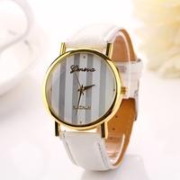 2015Fashion new arrive women dress leather strap geneve wristwatch Ladies Goldenwomen dress wristwatch relogio femininoXR703