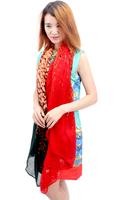high quality women winter fashion warm soft scarf Three color zebra scarf 180*100cm 6colors free shipping