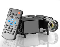 2014 home theater with 380*280P 60 lumens game theater  mini led projector  with HDMI VGA USB SD surpport 1080P full hd  OEM ODM