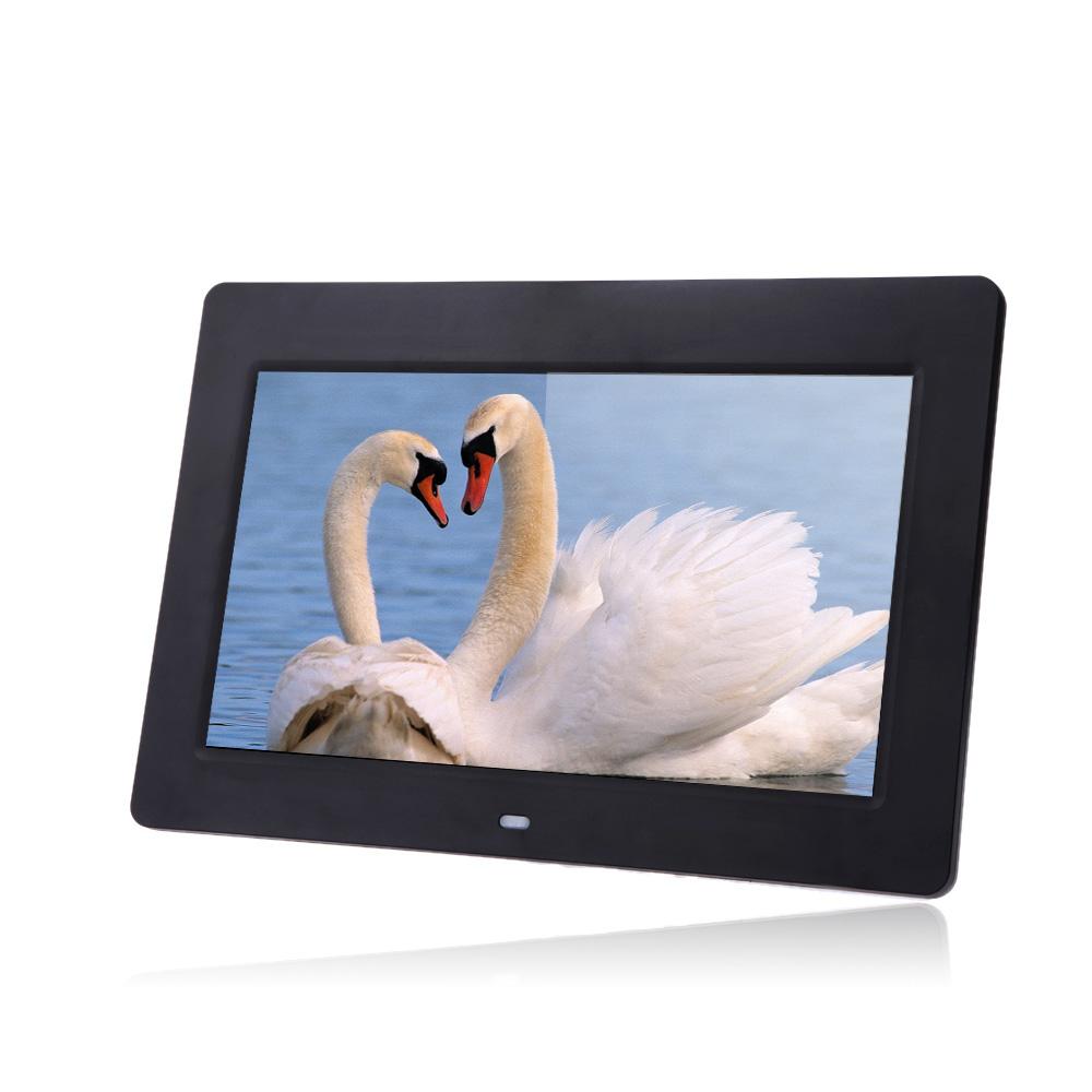 Цифровая фоторамка 10 HD tft/lcd 1024 * 600 MP3 MP4 D1438B-EU автомобильный монитор 150pc 4 3 tft lcd hd lcd dvd