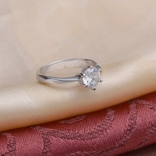 40 off Wedding 925 Sterling Silver Ring Love Crystal Party Rings for Women 2015 Wholesale Gift