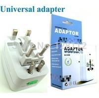 Retail Box! International Worldwide Universal Travel Wall Charger AC Adapter Socket AU/UK/US/EU Plug For Business FreeShipping