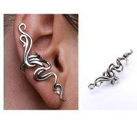Hot Retro Vintage Gothic Rock Punk Twine Shape Ear Cuff Clip Earring Earrings Women Men 65325-65326