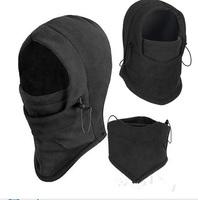 Essential  Thermal Fleece Balaclava Hood Police Swat Ski Bike Wind Winter Stopper Face Mask On sale 6 in 1 Warm Wind Mask