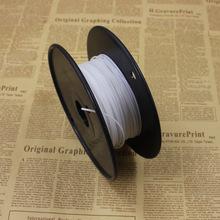 White Color 3D Printer Filament ABS 50M plastic Rubber Consumables Material MakerBot/RepRap/UP/Mendel