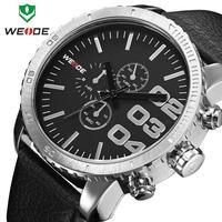 Top Fashion Genuine Leather Strap Men Watch Japan Quartz Watches Military Watch 30 Meters Waterproof Sport Wristwatch