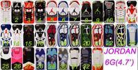MOQ 1pcs Puro Air Jordan sneakers Sole PVC Rubber Cover For Apple iphone 6 4.7/5.5,jordan's Phone Case,Free Shipping