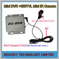 Free Shipping  Mini CCTV DVR and Mini Camera Digital Video Recorder Support 32GB TF Card Motion Detection Record
