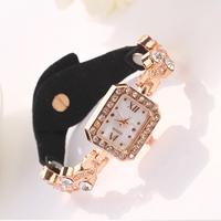 Top quality 2015 new luxury fashion design for women girl lady dress Clock relogios relojes  Quartz Girl Wristwatch GiftXR657