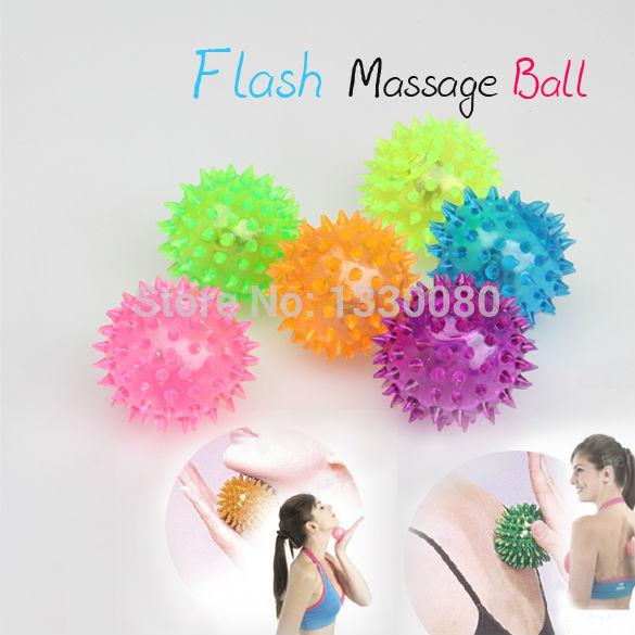 Flashing Light Up Balls Novelty Sensory Hedgehog Ball Sound Toy Ball E5M1(China (Mainland))