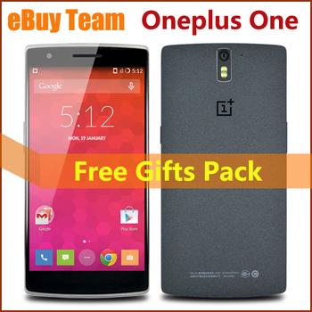 """Оригинальный смартфон Oneplus один плюс один 4 г 5.5 """" FHD Qualcomm львиный зев 8974AC четырехъядерных процессоров андроид 4.4.2 ROM 16 ГБ / 64 ГБ 13MP мобильные телефоны"""