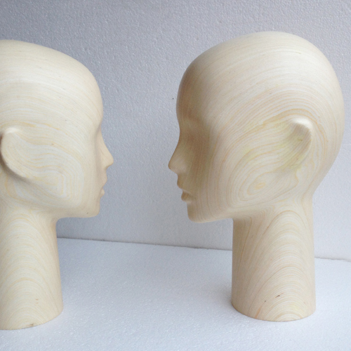 Jewelry display props, Beauty girl mannequin head, High end wooden heads models(China (Mainland))