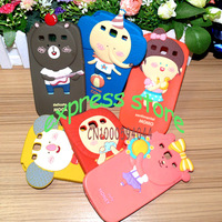 high quality soft  Hello Geeks cartoon case for samsung galaxy S3 I9300 silicon  Romane case for S3 I9300 free shipping