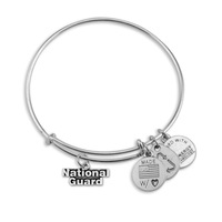 The United Stated National guard charms bracelets bangles with special meaning fashion jewelry