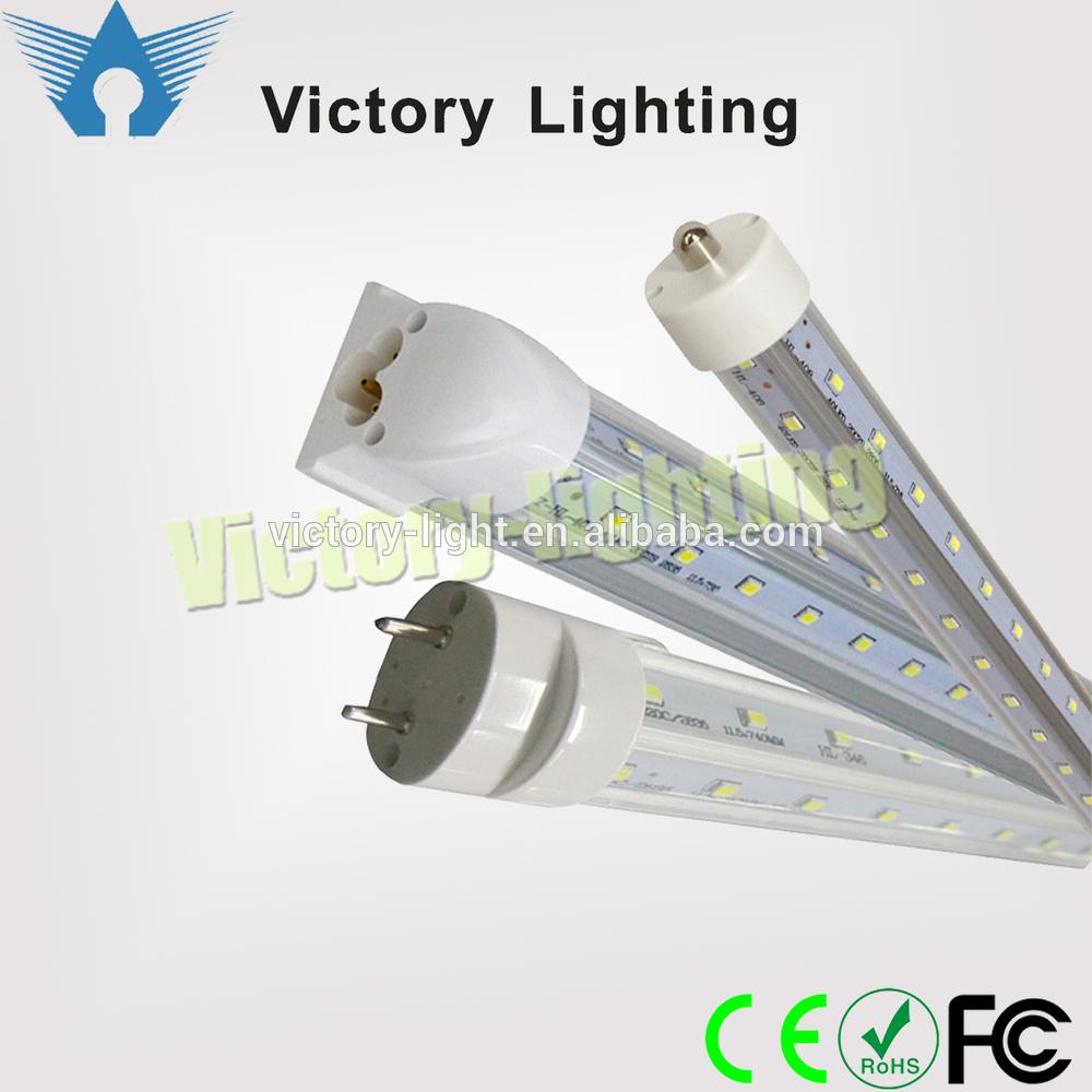 Free Shipping 32w T8 5ft V-Shaped led tube light for freezer led refrigerator light SMD2835 led cooler lamp(China (Mainland))
