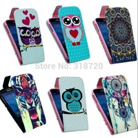 For Samsung Galaxy S4 I9500 Case High Quality Cartoon Design Magnetic Holster Flip PU Leather Phone Cases Cover D1169-A