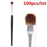 Professional Short Shader Brush Eyeshadow Smudge Makeup Brush Wholesale 100pcs/lot