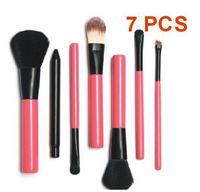 2014 Makeup Brush Set Tools 7Pcs Cosmetic Make Up Brush Set Professional pinceis beauty with box XM010