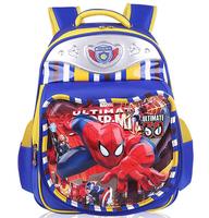 3D Cartoon Primary Students School Bags Schoolbag Comfortable Children School Backpack For Boy & Girl 4 Colors
