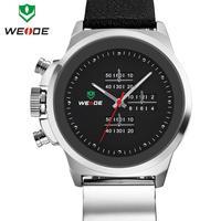 New genuine soft leather watchband men watch wristwatches original Japan Miyota 2035 quartz movement 3ATM 12-month guarantee