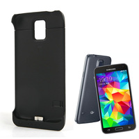 New Backup External Battery Charger Case Cover 3200mAh Power Bank For Samsung Galaxy S5 i9600 # C102088
