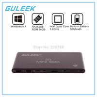 2015 New GULEEK i8 Mini box Quad-Core CPU intel Z3735F Windows 8.1 Smart Google TV Player w/ 2GB RAM, 16GB ROM, HDMI