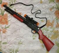 New Children'S Toy Rifle Shotgun Toy Electric Toy Guns Light Shock Vibration 63cm Long