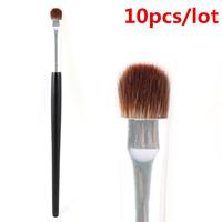 Professional Short Shader Brush Eyeshadow Smudge Makeup Brush Wholesale 10pcs/lot