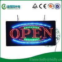 LED advertising flashing electronic panel /LED open sign/ Indoor usage LED signage/LED window display