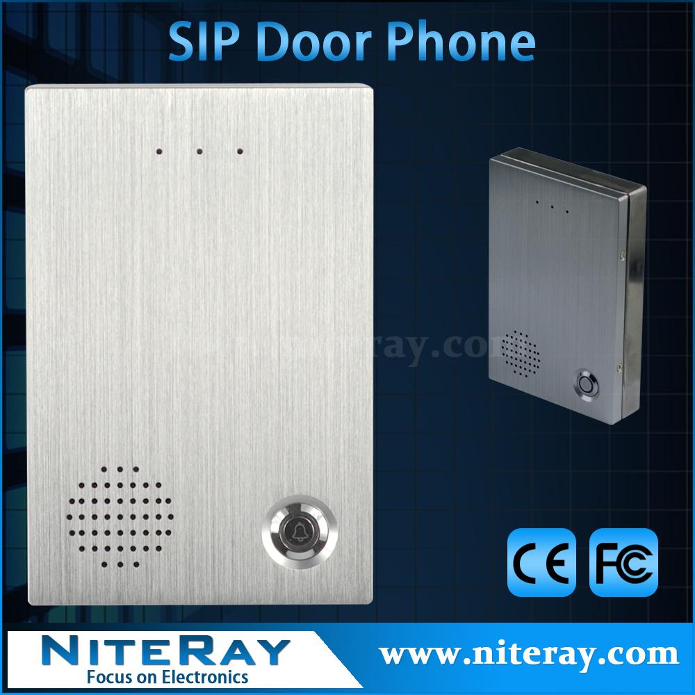 Voip/ip door phone with zk access control door lock system(China (Mainland))