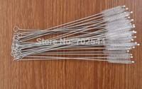 HOT  Cigarette holder brush .stainless steel cleaning brush  straw cleaning brush 170mm*6mm*35mm (100 pcs/lot)+Free shipping