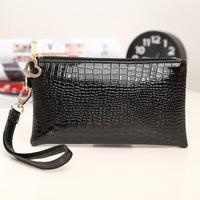 Fashion PU leather women wallet European and American style cheap women handbag organizer wallet ladies free