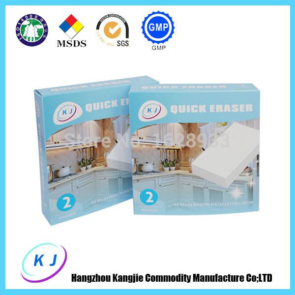 2pcs/pack Magic Sponge Melamine Sponge for Kitchen/Dish/Bath Cleaning Sponge(China (Mainland))